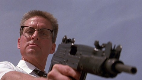 Michael Douglas in the seminal Falling Down