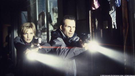 Kathryn Morris and Christian Slater search for a positive Mindhunters review
