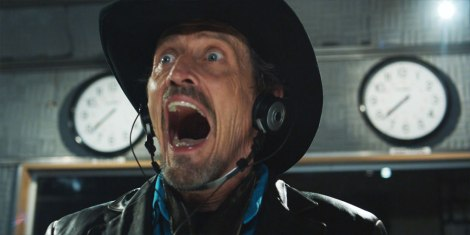 Stephen McHattie as 'shock jock' Grant Mazzy in Pontypool