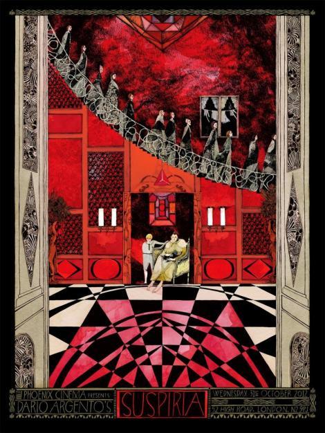Jessica Seamans artistic Suspiria poster