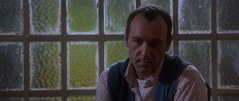 Kevin Spacey in his Academy Award winning role as Verbal Kint