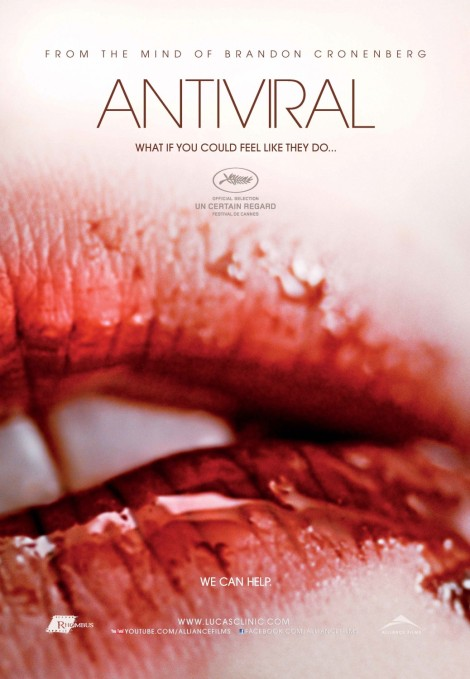 Suggestive and vivid... and quite grotesque. Antiviral