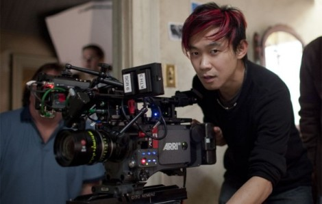 Australian director James Wan on the set of The Conjuring