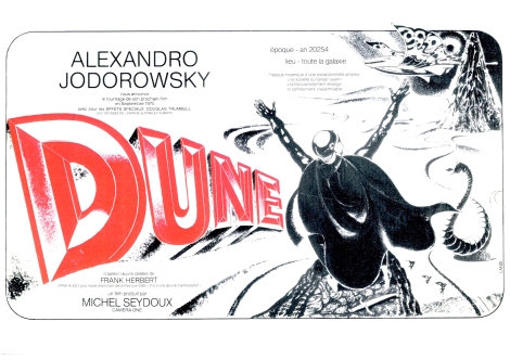 Jodorowsky's Dune - the film that never was