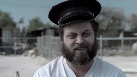 Nick Offerman. Far from Parks and Recreation