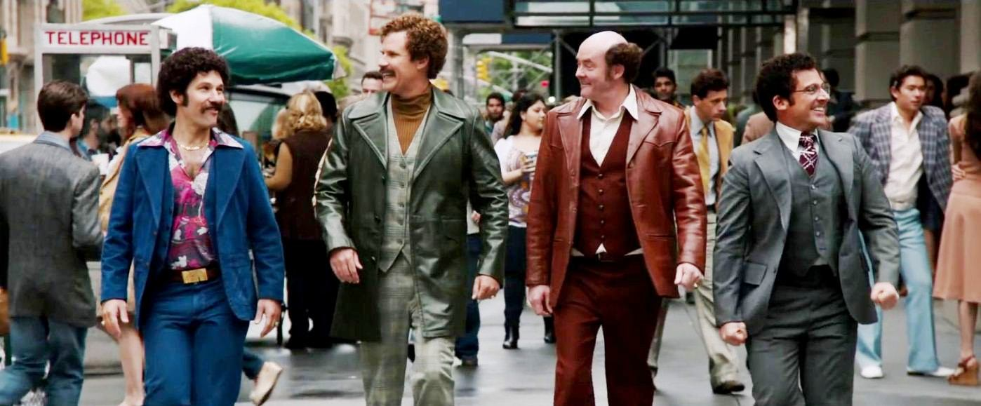 Film Review Anchorman 2 The Legend Continues 2013 Jordan And Eddie The Movie Guys