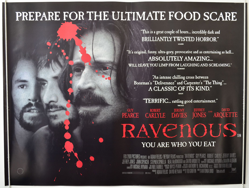 Movie Posters 1999: Classic Review – Ravenous (1999)