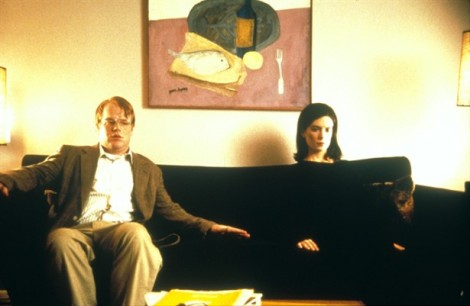 Philip Seymour Hoffman and Lara Flynn Boyle are both outstanding in Happiness