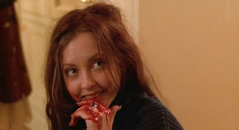 Katharine Isabelle as the object of her male classmates affections, Ginger