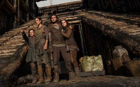 Noah's family... minus a sulking Ham