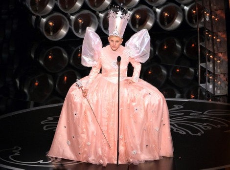 Ellen adding some colour to preceding's, she did a fine job of hosting