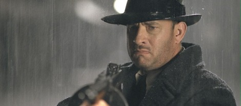 Hanks in Sam Mendes's at times beautiful gangster flick Road To Perdition