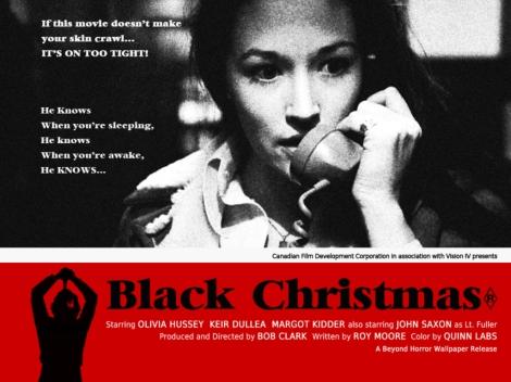 black christmas 1974 poster