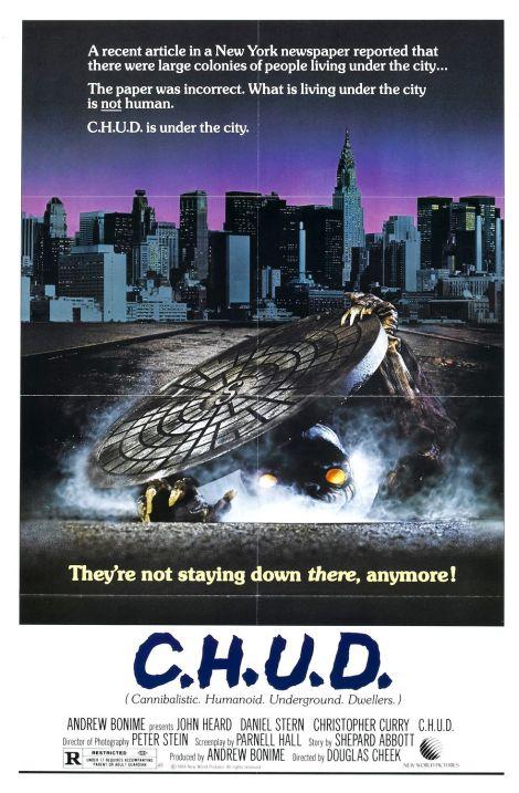 CHUD 1984 poster