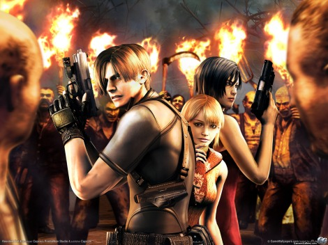 Resident Evil 4. The greatest video game of all.
