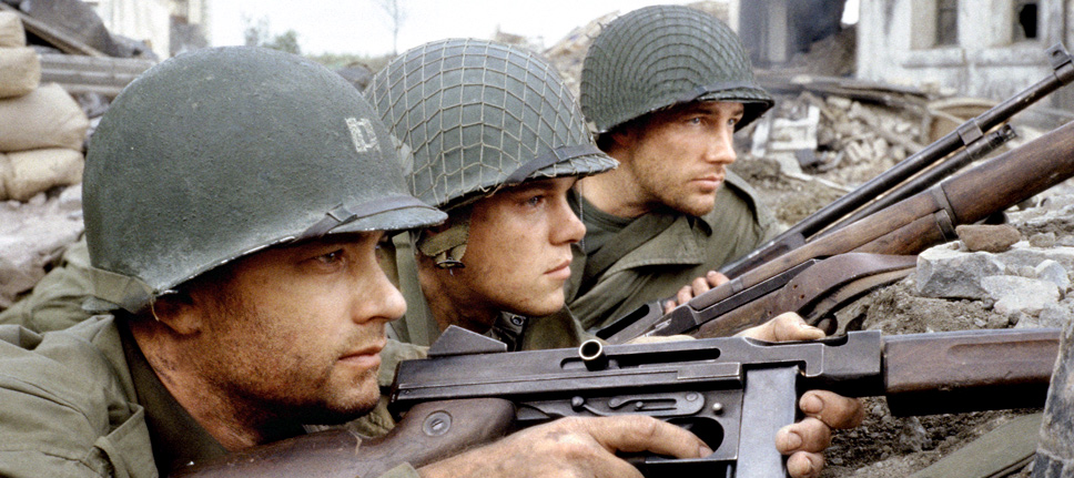 Private ryan or the thin red line jordan and eddie the movie guys