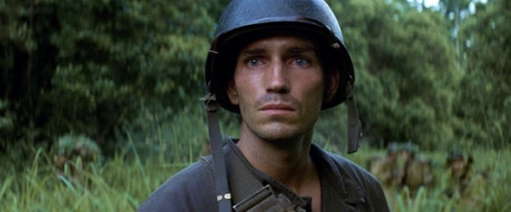 Jim Caviezel is outstanding in Malick's mesmerizing The Thin Red Line