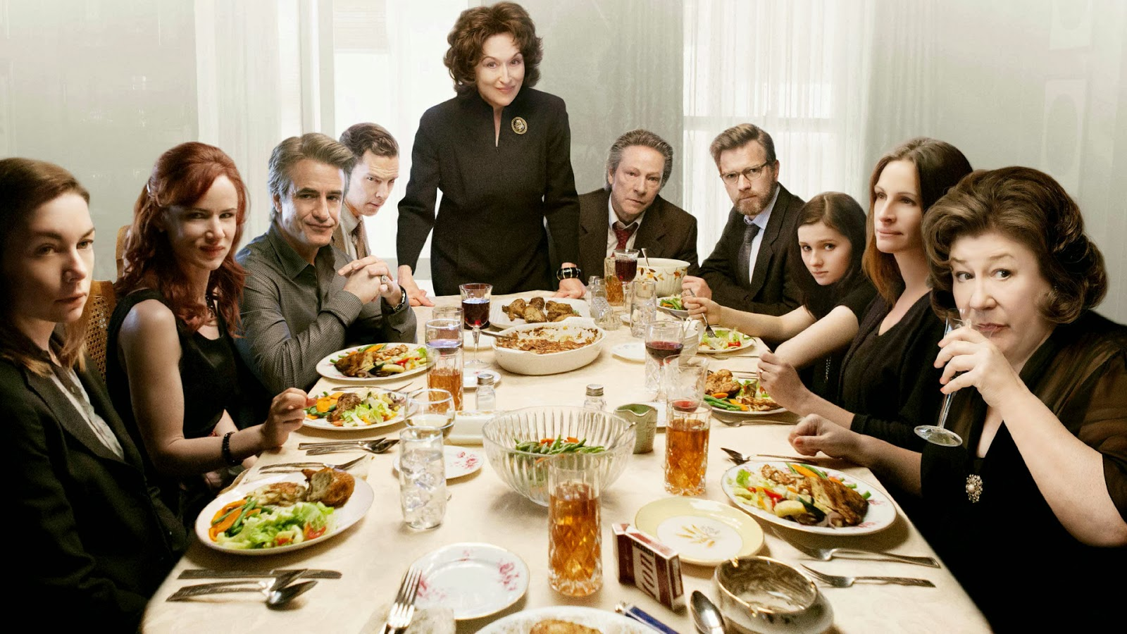 August: Osage County (film) Film Review August Osage County 2013 Jordan and Eddie The