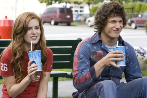 Isla Fisher and Andy Samberg Hot Rod movie image