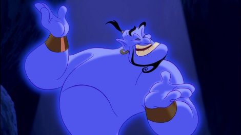 The voice work of Williams in Disney's Aladdin can't be underestimated.