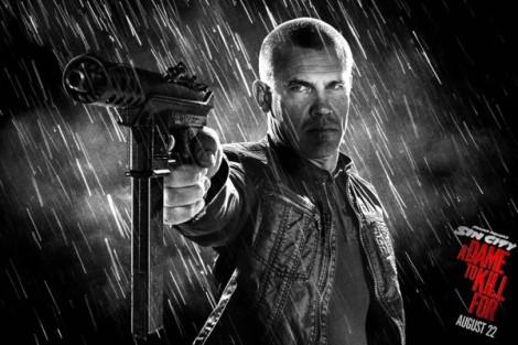 Josh Brolin as Dwight in Sin City: A Dame to Kill For