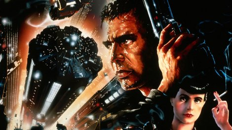 Poster artwork from the Sci-Fi classic Blade Runner