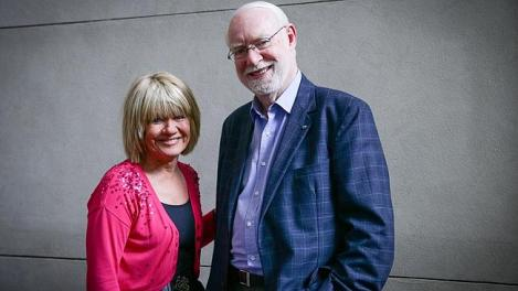Margaret and David - post