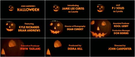 Halloween credits