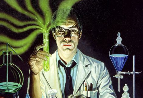 """Herbert West has a very good head on his shoulders... and another one in a dish on his desk"" Stuart Gordon's Re-Animator"