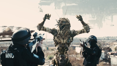 "A ""Prawn"" is confronted in District 9"