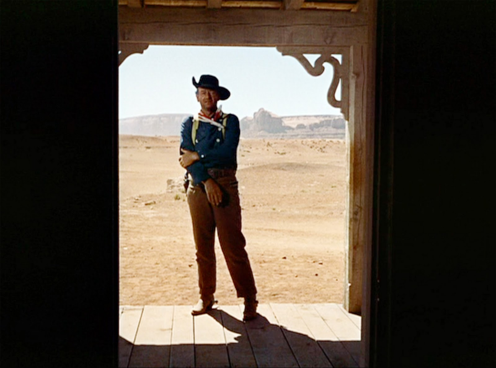the searchers john wayne ending relationship