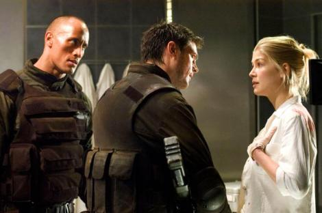 DOOM, Dwayne 'The Rock' Johnson, Karl Urban, Rosamund Pike, 2005, (c) Universal