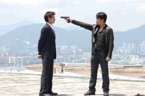 Infernal Affairs, which the Departed is based on