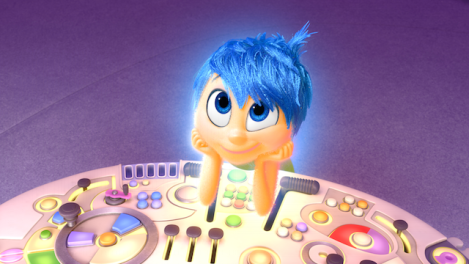Joy Inside Out Disney Pixar