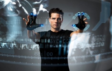 Cruise like the audience, seemed to have a great time with Minority Report