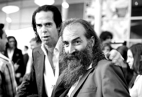 Nick Cave and Warren Ellis - collaborators on the Jesse James score