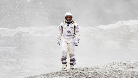Suited up in the epic Sci-Fi Interstellar, a film for the ages