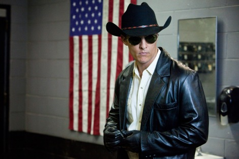 Dressed to kill in the creepy fried chicken filled Killer Joe