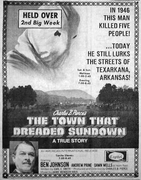 The Town that Dreaded Sundown advertising