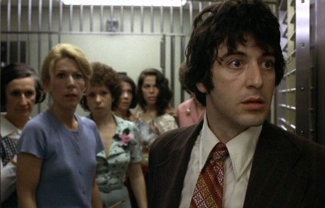 Pacino gave it his all in the classic Dog Day Afternoon