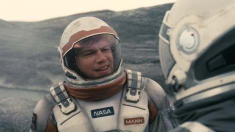 Damon as Dr. Mann in Interstellar, a role he was never even announced for
