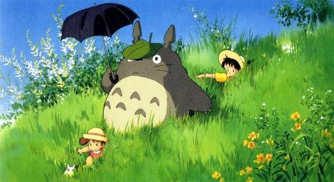 My Neghbor Totoro Studio Ghibli