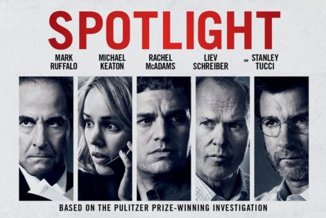 Spotlight movie 2015