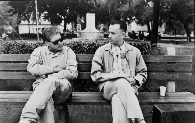 Robert Zemeckis and Tom Hanks