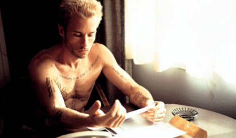 In Memento, Guy Pearce delivered a career best turn