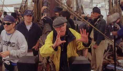 Peter Weir braved the high seas when filming the Russell Crowe starrer Master and Commander