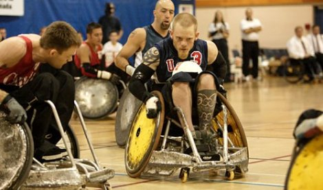 Murderball is a must watch documentary as well as a sporting movie