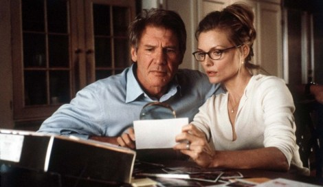 Harrison Ford and Michelle Pfeiffer in the creepy What Lies Beneath
