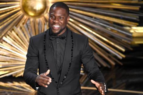 "Even ""funnyman"" Kevin Hart got involved in political statements at the ceremony"