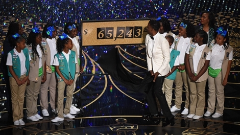 Chris Rock girl scout Oscars